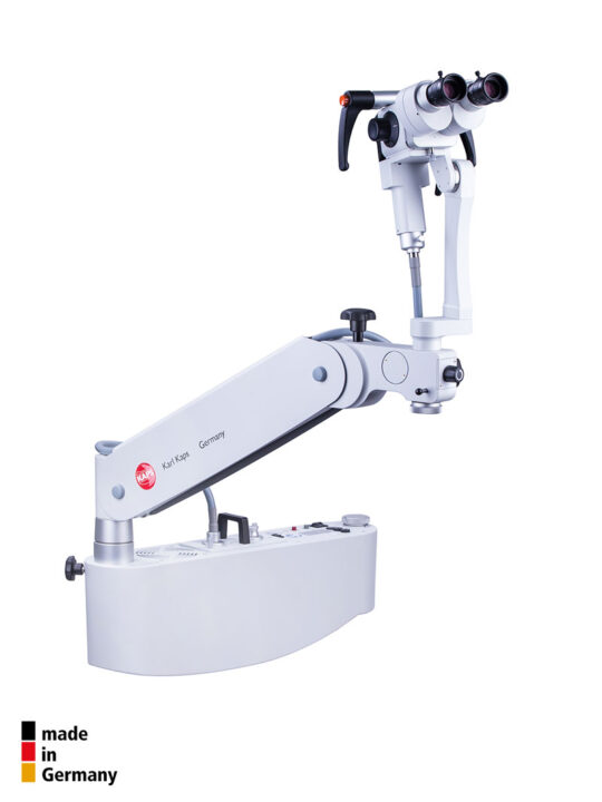 karl-kaps-germany-som42-colposcope-mounted-to-examination-chair