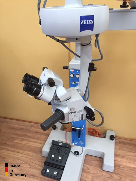 Refurbished Carl Zeiss OPMI-Visu 150xy on S-3 for Ophthalmology