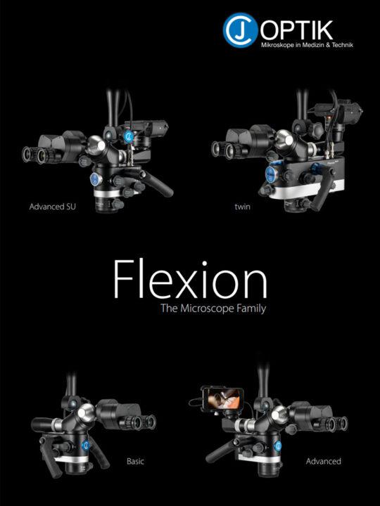 CJ Optik Flexion Dental Microscope Family